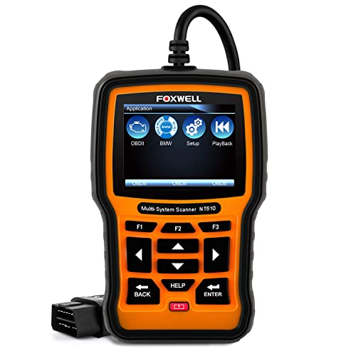 FOXWELL NT510 is among the best BMW Scan Tools
