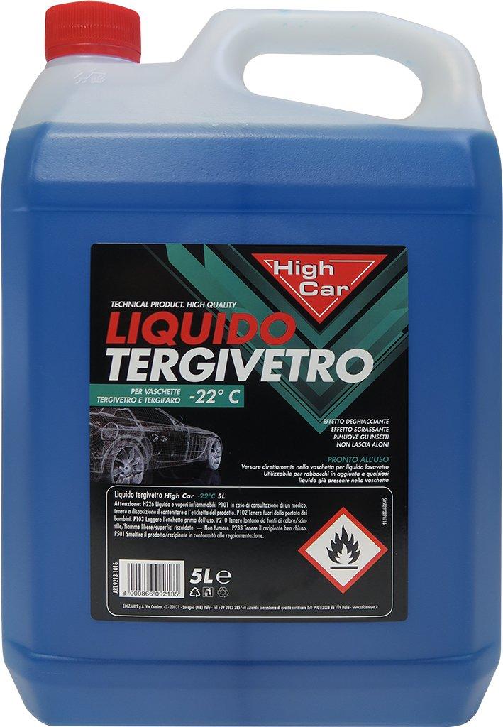 High Car líquido limpiacristales High-Car -22â ° 5L - químico Coche: Amazon.es: Coche y moto
