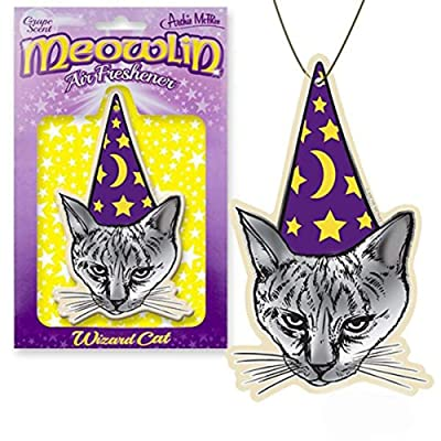 Archie Meowlin Grape Scented Air Freshener: Automotive