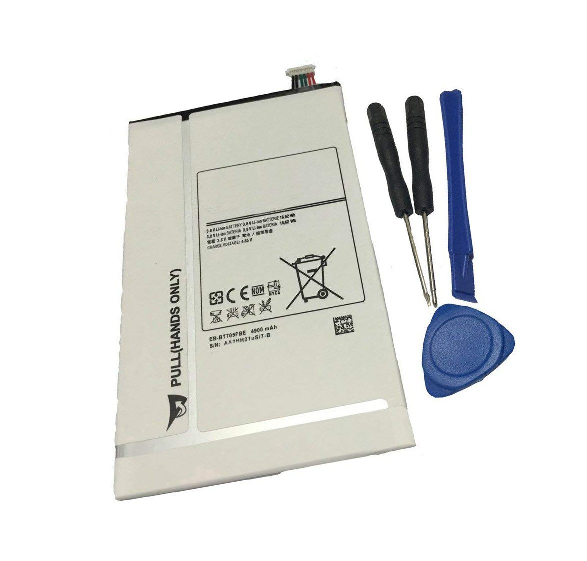 Tesurty Replacement Battery Samsung Galaxy Tab S 8 4 SM-T700