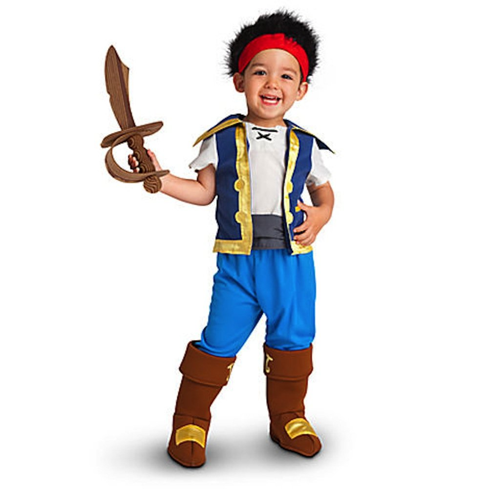 Amazon.com: Disney Store Jake and the Neverland Pirates Costume 2t ...