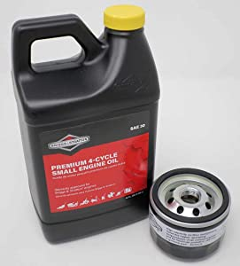Briggs and Stratton 48oz Oil and 492932s Oil Filter