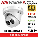 Hikvision 5MP English DS-2CD2355FWD-I Network POE IP Camera H.265+ IR 30m IP67