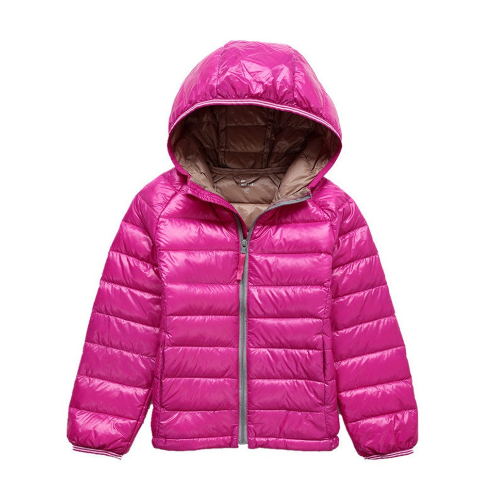GETUBACK Kids Down Coat Warm Puffer Jacket with Hood