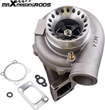 GT35 GTX3582 Billet Wheel Turbo .63 A//R T3 Vband Turbine Housing Anti-Surge USA