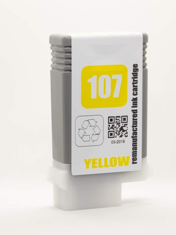 XL-Ink Compatible para Canon PFI-107/PFI107, Paquete de 6 (2 Unidades Negro Mate, Negro, Cian, Magenta, Amarillo): Amazon.es: Electrónica