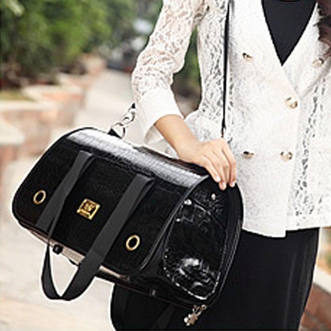 Hc6713a Pet Supplies Portable Folding Pet Handbag Shoulder Bag for Cat Dog and oher Pets Medium, Size 42  27  22cm (SKU   Hc6713a)