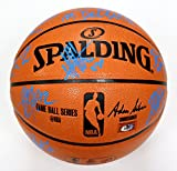 Cleveland Cavaliers Cavs 2015-16 Team Autographed Signed Spalding NBA Game Replica Basketball PAAS COA Lebron Kyrie Love
