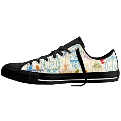 77443f7559b17 Amazon.com: Multicolored Bird Cages Women Low Classic Style ...