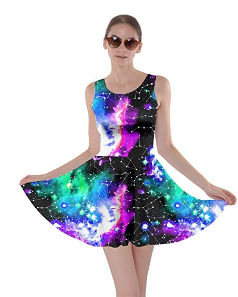 7fc379e3ed8a CowCow Womens Starry Night with Shiny Silver Stars and Stripes Space ...