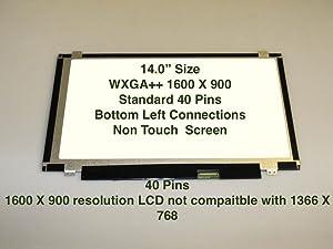 """Lenovo IBM THINKPAD T430 2342-7PU 14.0"""" WXGA++ HD+ Slim LCD LED Display Screen"""
