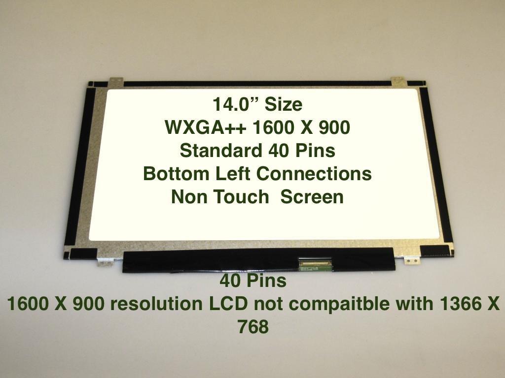 LED SAMSUNG LTN140KT03-301 BOTTOM RIGHT CONNECTOR LAPTOP LCD SCREEN 14.0 WXGA+