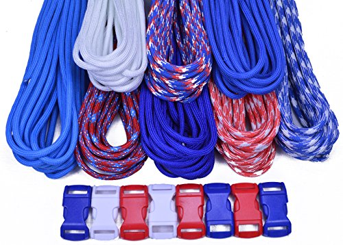 Bored Paracord Brand Paracord Starter Kit - Freedom Combo Kit by BoredParacord