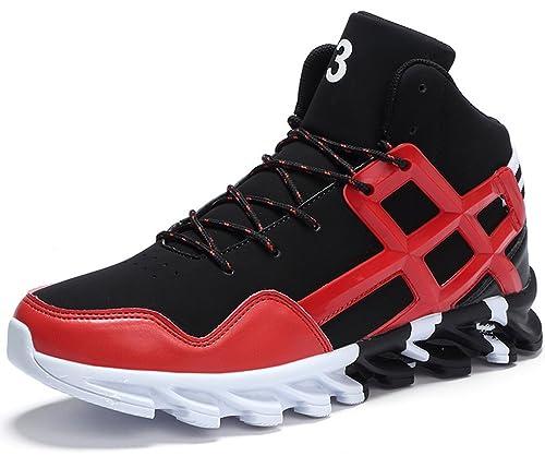 PORTANT Uomo Alto Scarpe da Basket Sportive Sneaker Fitness Interior  Running Casual Corsa Ginnastica all  4a07c9f7e56
