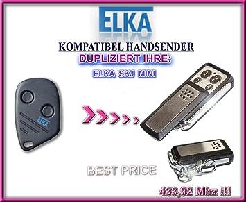 klone fernbedienung ELKA SKJ MINI kompatibel handsender 4-kanal 433,92Mhz fixed code Top Qualit/ät Kopierger/ät!!!