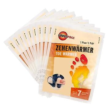 Warmpack Calentador para Dedos de los pies (10 Paquetes)
