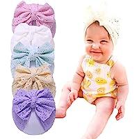LHTHZHY Baby Hat Newborn Baby Girl Soft Turban Hat Knot Rabbit Cap