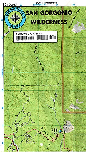 (San Gorgonio Wilderness Map (2015) (Tom Harrison Maps Waterproof and Tear Resistant))