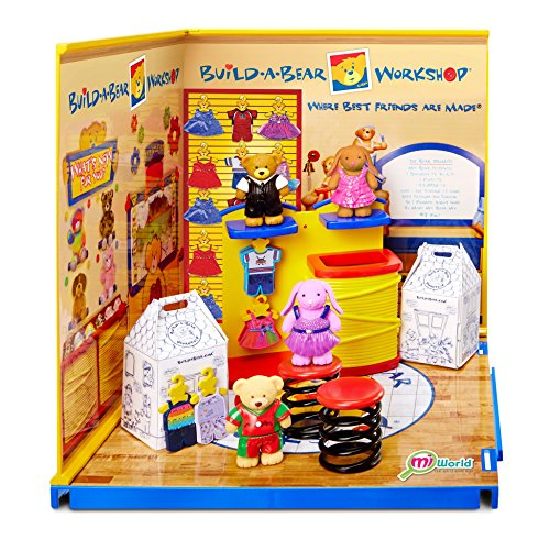 Miworld 84853 Starter Build A Bear Playset