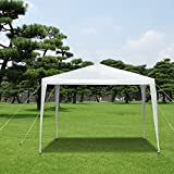 IKAYAA 3M*3M Garden Canopy Gazebo Outdoor Party Wedding Camping Tent Waterproof