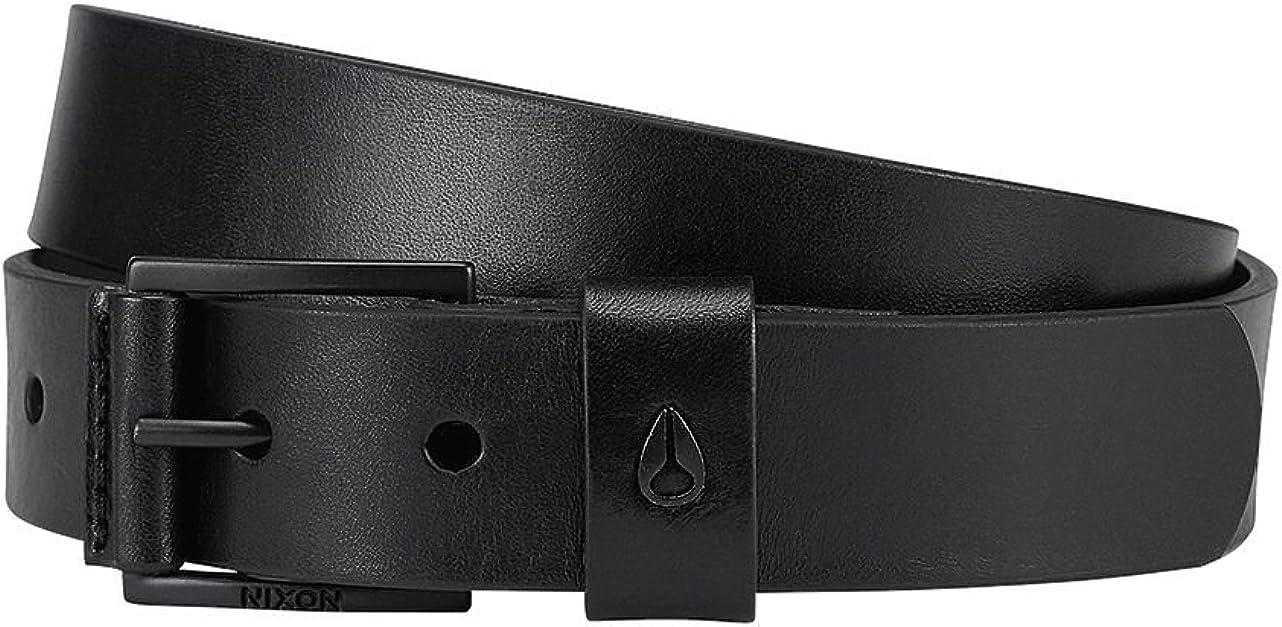 Nixon Americana Mid Leather Belt Black Mens Large 33-36