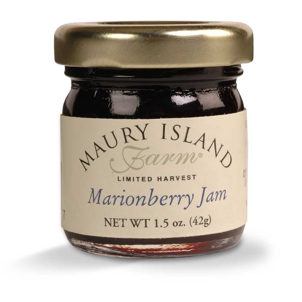 Amazon.com : Gourmet Marionberry Jam, 1.5 oz Mini Jar - All Natural ...