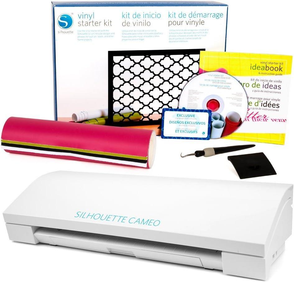 Silhouette Cameo 3 con Kit de iniciación de Vinilo: Amazon.es: Electrónica