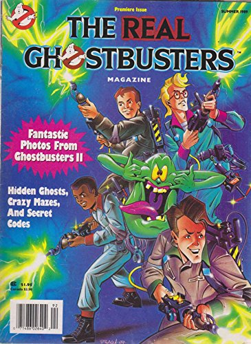 Real Ghostbusters Magazine #1 VG ; Welsh comic book