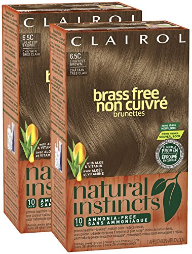 Natural Instincts Brass Free Light Blonde