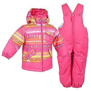 Jupa Alisa Two-Piece Ski Suit Toddler Girls