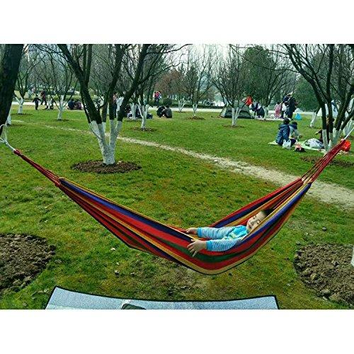 SUHANG Hamac La Base Pivotante Seule Auberge Camping Outdoor Leisure Hamac De Corde Pour Sacs Cravate