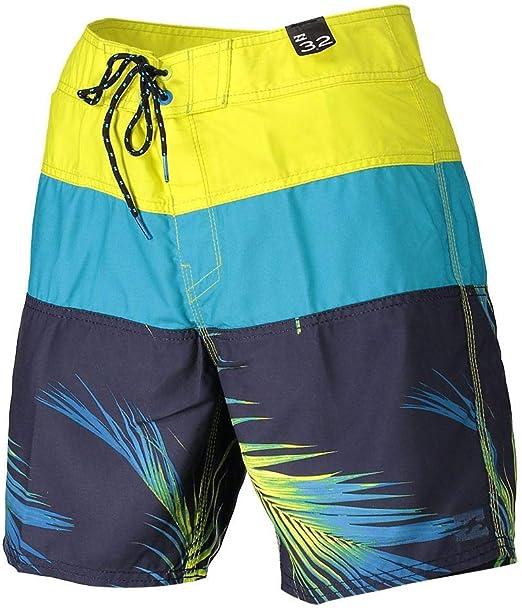 TALLA 28. BILLABONG Tribong OG 17- Bañadores para Hombre con Estampado Triple Tipo pantalón Corto