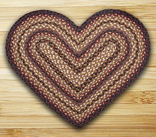 Earth Rugs HC-371 Heart Shaped Rug, 20 by 30