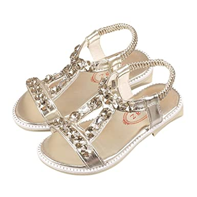 bd4208e996b81 Amazon.com: LNGRY Baby Sandals, Toddler Kids Baby Girls Summer ...