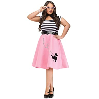 0442fb2f23 Image Unavailable. Image not available for. Color: 50's Soda Shop Sweetie  Plus Size Adult Costume