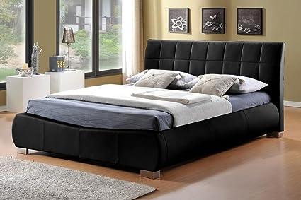 Dorado cama tamaño del marco: doble (4\' 15,24 cm), Color: blanco ...