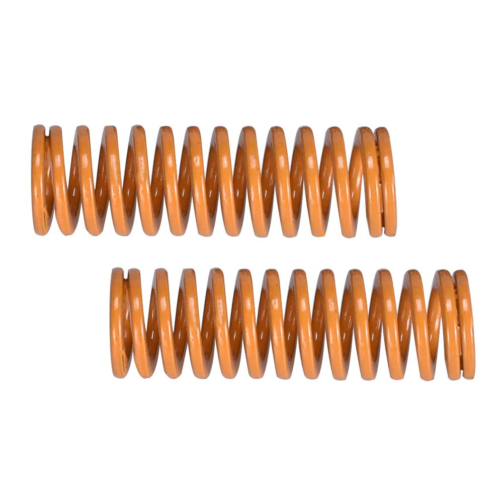 WitBot Heated Bed Spring for 3D Printer Creality CR-10 10S S4 Ender 3 Heatbed Springs Bottom Connect Leveling Length 25mm OD 8mm ID 4mm for 3D Printer Part. 10 pcs