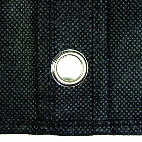 Hangerworld Pack of 3 Breathable Black 40 Inch Garment Bags - Safe Storage for Suits etc.