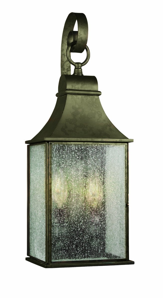 World Imports 61308-06 Revere Collection Outdoor 2-Light Wall Lantern, Flemish by World Imports Lighting
