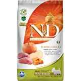 N&D(ナチュラル&デリシャス) ドッグフード パンプキン イノシシ&アップル 小型成犬用 2.5kg
