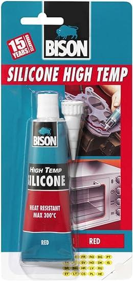 Amazon Com 2 X Bison Silicone High Temp Red 60ml 6305453 Home Improvement