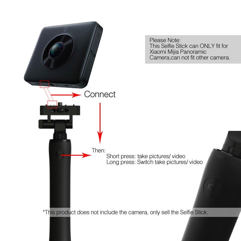 Amazon.com: Original Xiaomi mijia cámara selfie stick ...