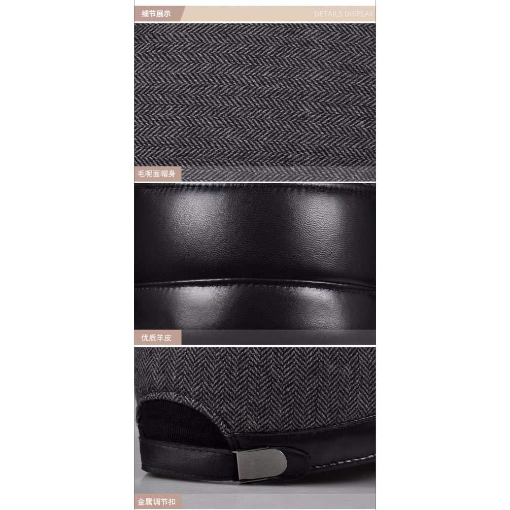 FERZA Home Herrenmütze aus aus aus Caplmütze aus Caplmütze. (Farbe   braun, Größe   22.8-23.6inch) B07MC3274Z Kopfbedeckungen Ausgezeichnete Qualität 7b78bc