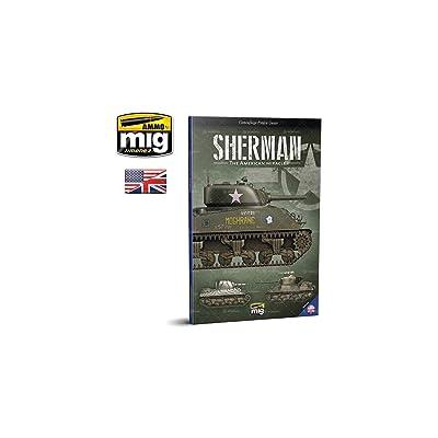 AMMO MIG-6080 Sherman: The American Miracle English, Multicolour: Mig Jimenez, Mig Jimenez: Toys & Games