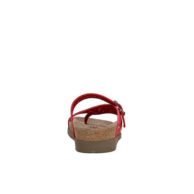ITA Red 40 Donna USA ND 6048 Size Sandalbuck 40 Helen N Mephisto Sandali Perf EU cm 10 Infradito T7H0q8