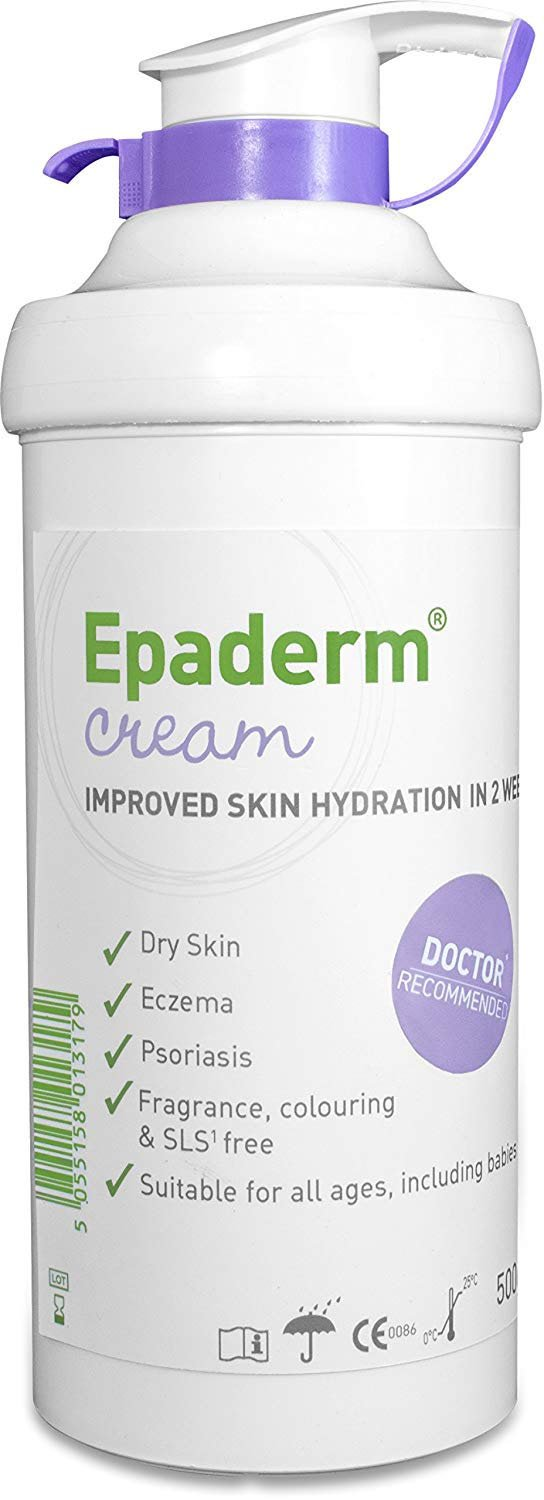 Eparderm 2in1 Cream 500g (Emollient & Skin Cleaanser)