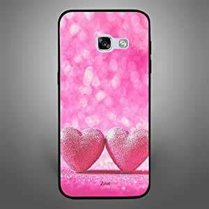 Samsung Galaxy A3 2017 Pink Heart, Zoot Designer Phone Covers