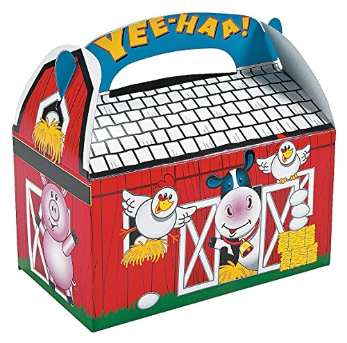 Fun Express Farm Barnyard Animal Treat Boxes (16 Count) by Fun Express