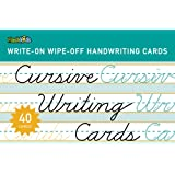 Cursive Writing Cards (Write-On Wipe-Off Handwriting Cards.)