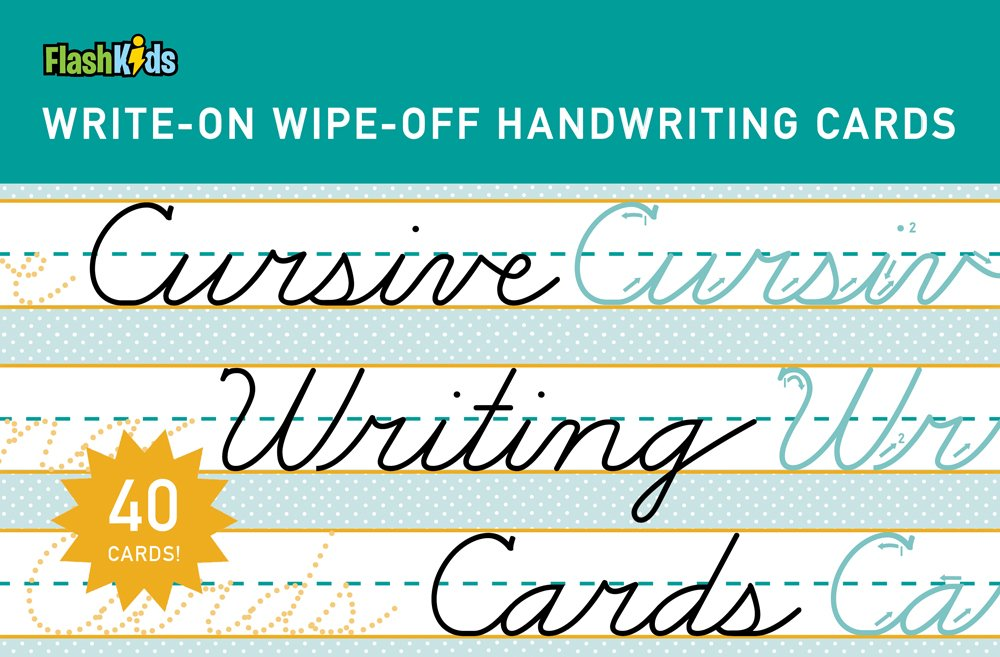 Read Online Cursive Writing Cards (Write-On Wipe-Off Handwriting Cards.) ebook
